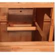 SOKOLOV fa kültéri nyúlketrec, 1060x865x1600 mm