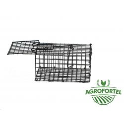 Egér-patkánycsapda 16 x 10 x 8 cm, egyoldalú