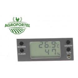 AGROFORTEL Digitális hő-és nedvességmérő - LCD kijelző TH-HY