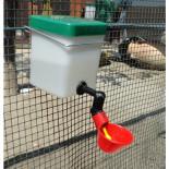 MS vízbimbós itató 500 ml tartállyal