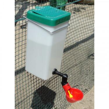 MS vízbimbós itató 1000 ml tartállyal