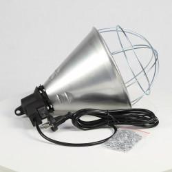 IRL03 infralámpa, 210 mm átmérő, kapcsolóval