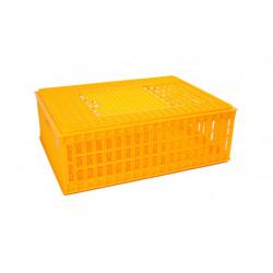 Baromfi szállító doboz - alacsony, összerakható