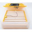 WQ-60 teljesen automatikus keltető nedvesség szabályozással 60 nagy/100 fürj tojás keltetésére.