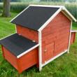 Fából készült csirkefogó és liba GRAZ tartóval vagy anélkül, 1710x900x1130 mm