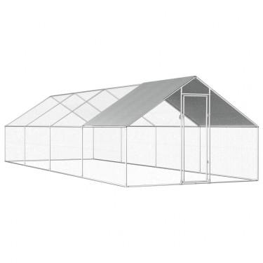 Kültéri ketrec - bekerített karám - 8x3x2 m