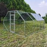 XXL Kültéri ketrec - bekerített karám - 4x3x2 m