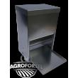 AGROFORTEL rálépős etető - 40 L, takarmány megtakarító, minőségi kialakítás