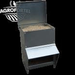 AGROFORTEL fém adagolós etető - 8 kg, takarmány megtakarító, minőségi kialakítás