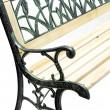 DELTA kerti pad - fém faborítással, 122 x 54 x 73 cm