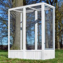 Kiterjesztés a luxus madárházhoz -BRECLAV-tömör fából, 136 x 52 x 114 cm