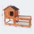 OSTRAVA fa kültéri nyúlketrec, 1420x650x1000mm