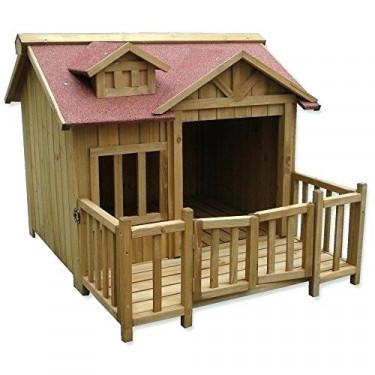 HAFHAF luxus kutyaház, előtérrel, 935x990x780 mm