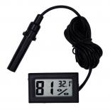 Digitális hő-és nedvességmérő - LCD kijelző