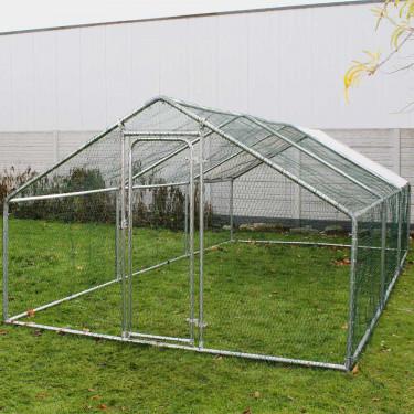 Kültéri ketrec - bekerített karám - 2x3x2 m