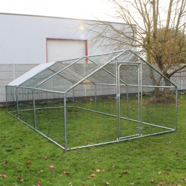 Kültéri ketrec - bekerített karám - 4x3x2 m