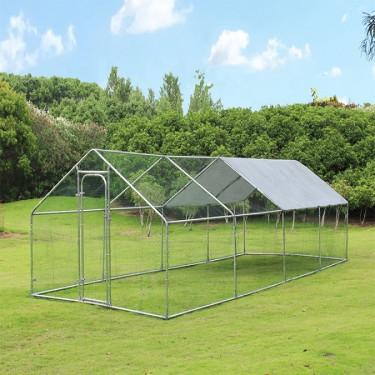 Kültéri ketrec - bekerített karám - 6x3x2 m