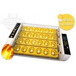 Automatikus digitális keltető YZ24S, beépített tojás világítással