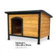 REX kutyaház - L méret - 104x70x66 cm