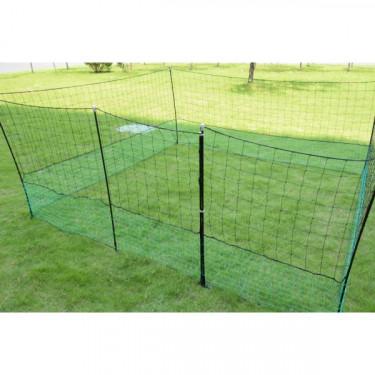 Nem vezető háló - 2 csúcs, 1,25 m x 12 m beleértve a kaput és a rögzítő anyagot