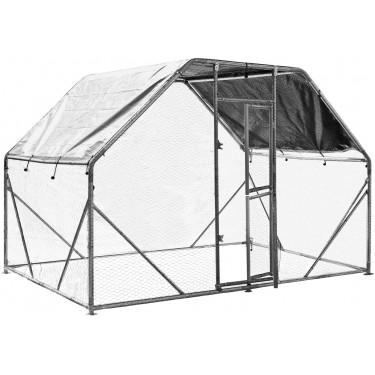 XXL Kültéri ketrec - bekerített karám - 2x3x2 m