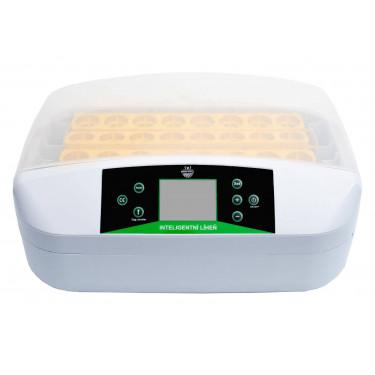 Automatikus digitális keltető YZ42S, beépített tojás világítással